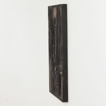 Unique Wall Sculpture by Paul Kingma, 1981